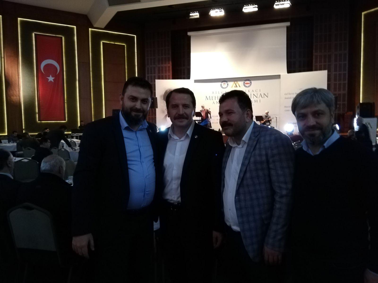 MEHMET AKİF İNAN'I ANMA PROGRAMI   05 OCAK 2019